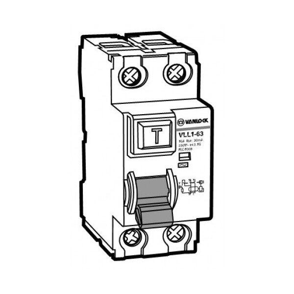 Cầu dao chống dòng rò RCCB VLL1-63/2063/030