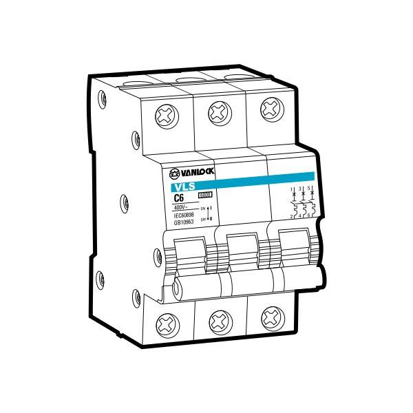 Cầu dao tự động MCB VLS1/C3010
