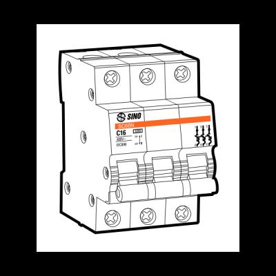 Cầu dao tự động MCB SC108N/C3010