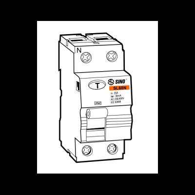 Cầu dao chống dòng rò RCCB SL68N/2025/100