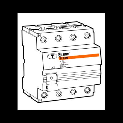 Cầu dao chống dòng rò RCCB SL68N/4040/100