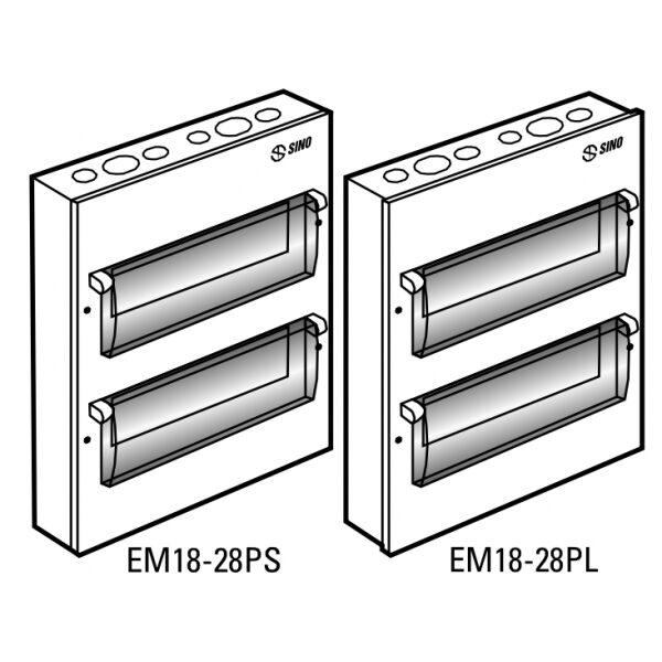 Tủ điện vỏ kim loại EM24PS
