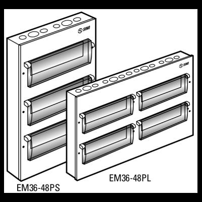 Tủ điện vỏ kim loại EM48PL