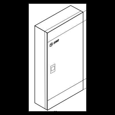 Tủ phân phối điện 3 pha CTDBA06/100SG