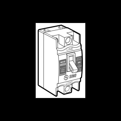 Cầu dao an toàn BS68N/2P15A