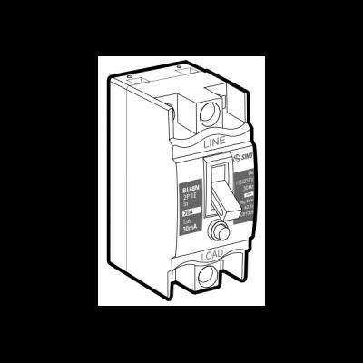 Tổ hợp cầu dao an toàn và cắt dòng rò BL68N/40A