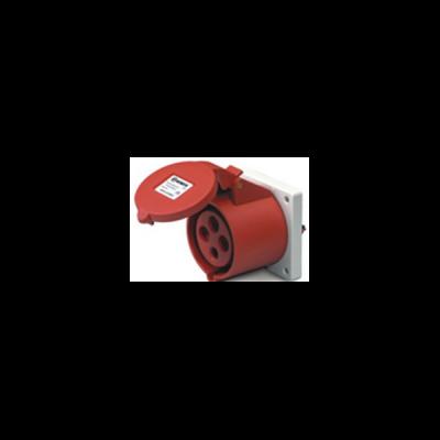 Ổ cắm âm dạng thẳng IP44 J324-6