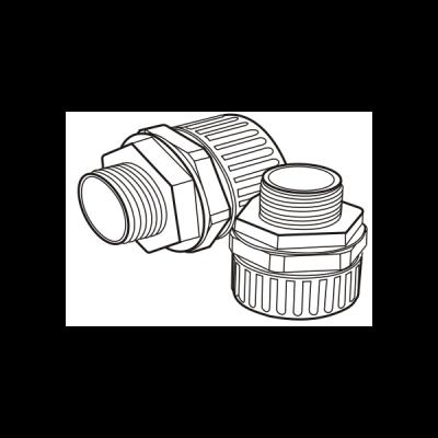 Khớp nối ren ống đàn hồi E251/25