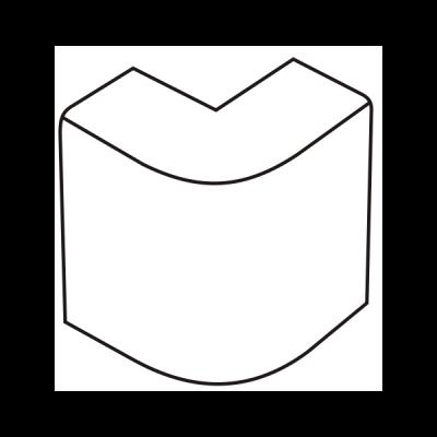 Cút chữ L dẹt AE80/A