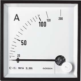 Ampe kế tương tự và đồng hồ đo điện