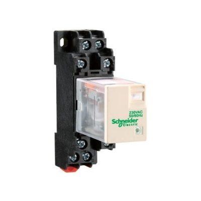 Miniature relay RXM4LB2FD