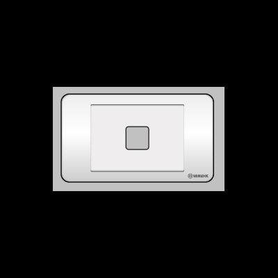 Mặt 1 lỗ Vanlock S18A1X