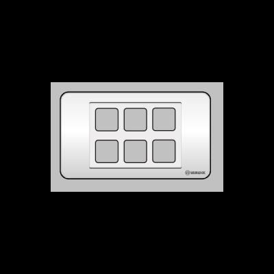 Mặt 6 lỗ Vanlock S18A6X