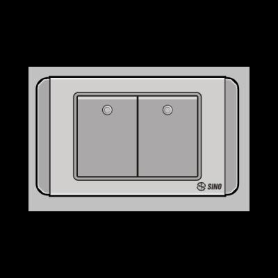 Công tắc đôi 2 chiều S68DGM2
