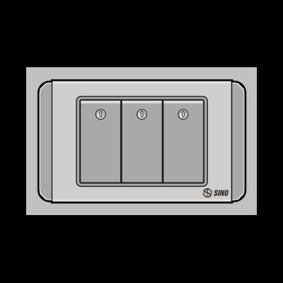 Công tắc ba 1 chiều S68DGN3