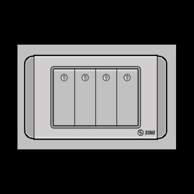 Công tắc bốn 1 chiều S68DGN4