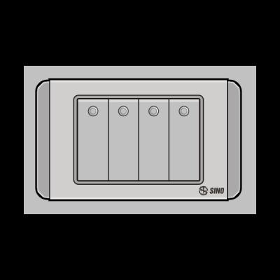 Công tắc bốn 2 chiều S68DGM4