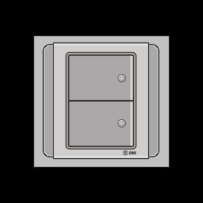 Công tắc đôi 2 chiều S66DGMN2