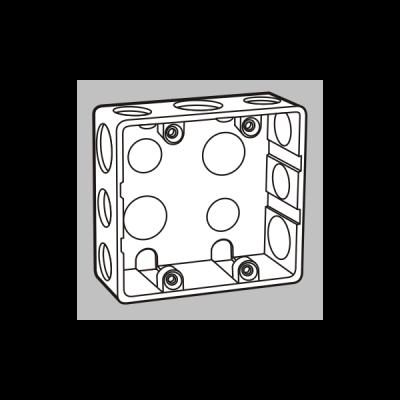 Đế âm mặt 4/6 mô-đun S2158