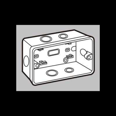 Đế âm tự chống cháy S2157/HA/HB