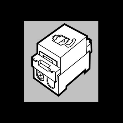 Hạt ổ cắm sàn máy tính 8 dây UPH8
