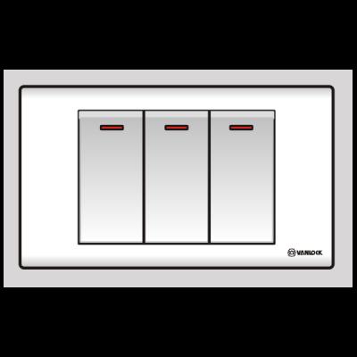 Công tắc ba 1 chiều S183N1R/DL