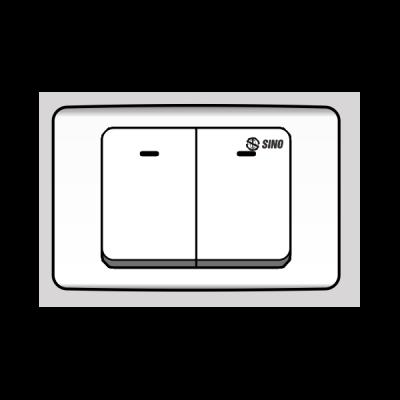 Công tắc đôi 2 chiều S92/2ND