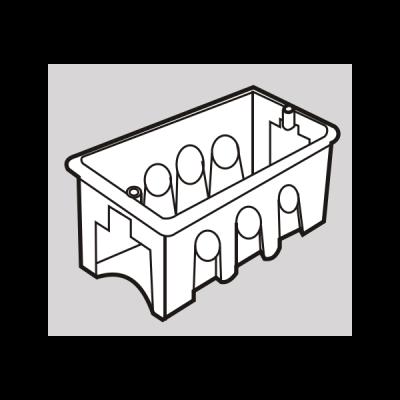 Đế âm nhựa SG100/M