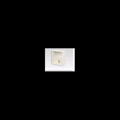 Hộp, âm nhựa trắng, đôi FPCA102