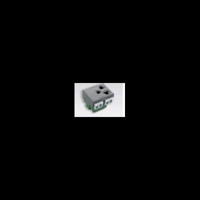 Ổ cắm đơn có dây nối đất và màn chắn WEG1181KH / WEG11817H
