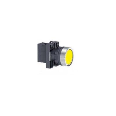 Nút nhấn có đèn báo Ø 22 Schneider XA2EW35B1