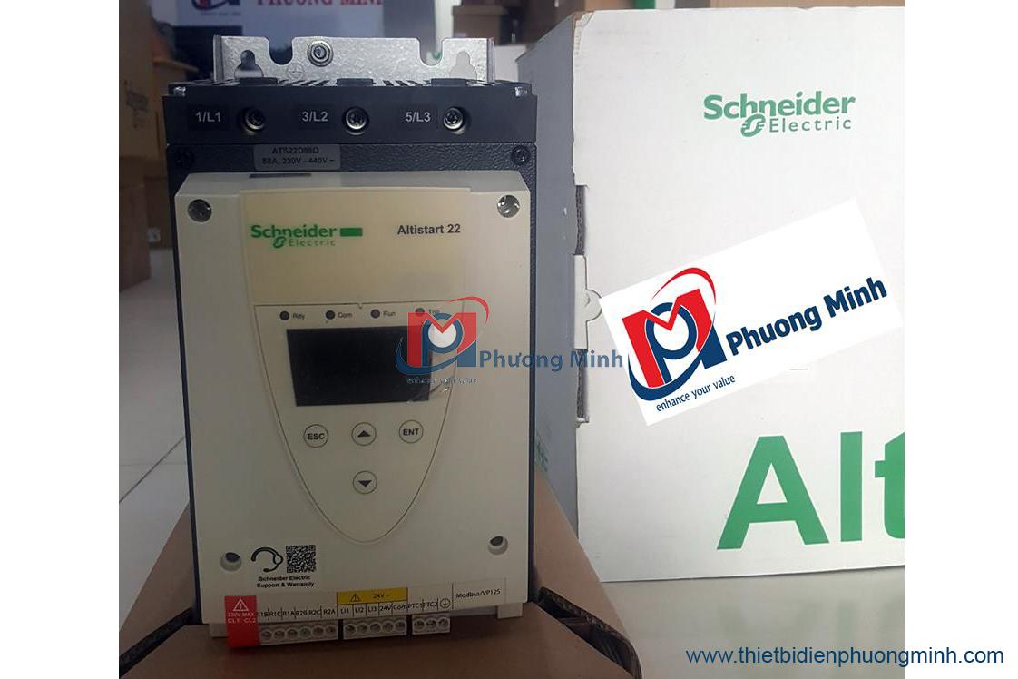 Khởi động mềm ATS48 Schneider