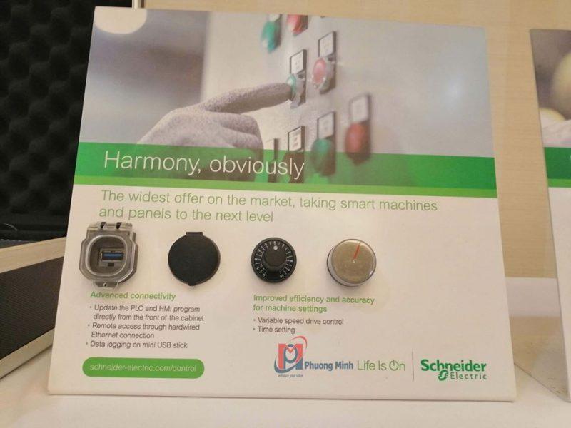 Harmony XB4F, XB5F – Thiết kế hiện đại
