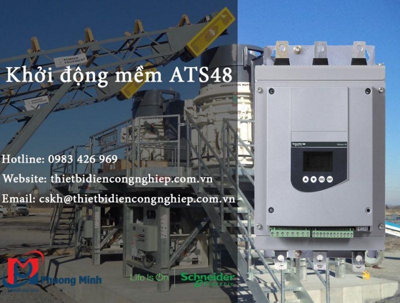 Khởi động mềm Schneider ATS48